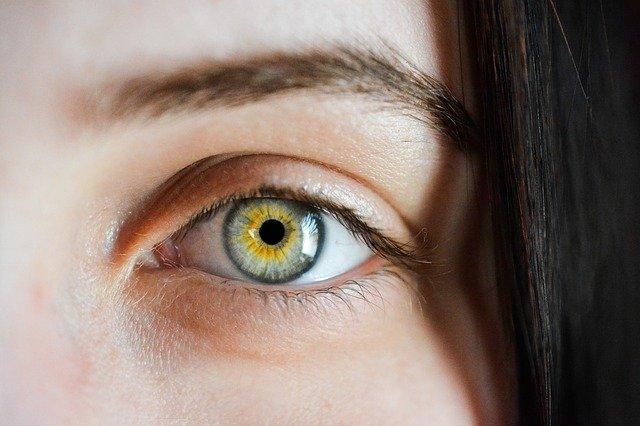 eye, iris, macro